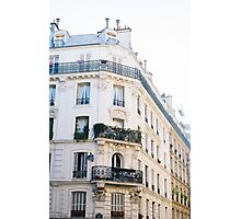 Corner Building In Paris Photographic Print