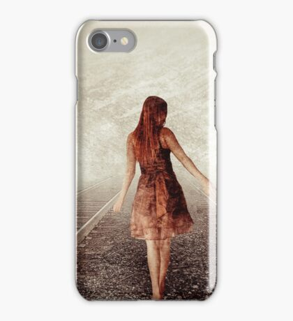 Walk The Lines iPhone Case/Skin