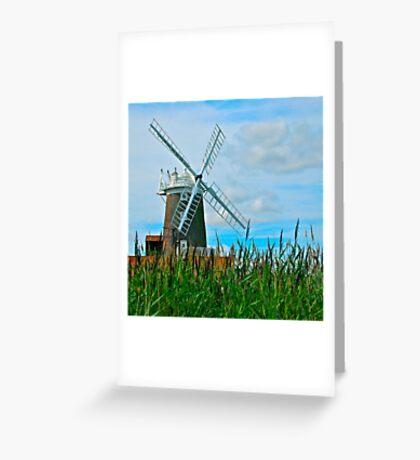 Cley Windmill Greeting Card