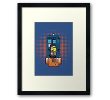 Doctor Minion 11 Framed Print