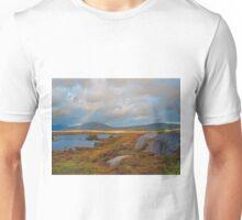 Rainbow over County Mayo, Ireland Unisex T-Shirt