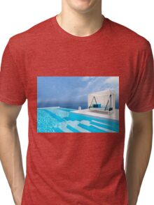 Santorini, Greece Tri-blend T-Shirt