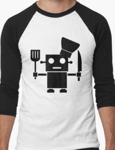 Robot Chef Men's Baseball ¾ T-Shirt