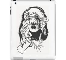 Graffiti Girl iPad Case/Skin