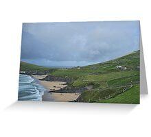 Atlantic Coast, Dingle, Ireland Greeting Card