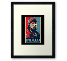 Omar Indeed Framed Print