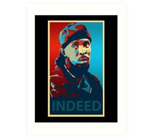 Omar Indeed Art Print