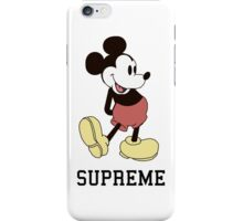 Supreme Mickey Mouse iPhone Case/Skin