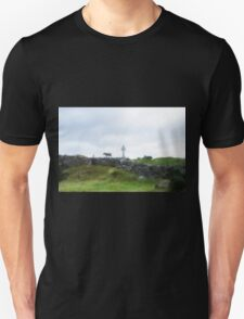 Sheep and Celtic Cross T-Shirt