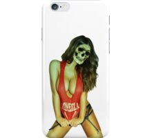 zombie dead ocean girl blonde bikini summer wedding party sexy white skull halloween scary monster alien iPhone Case/Skin