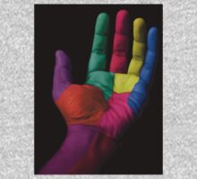 Colorful Hands Kids Tee