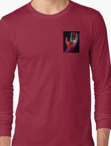 Colorful Hands Long Sleeve T-Shirt