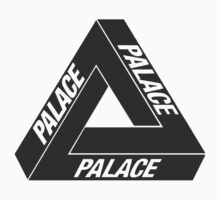 Black Palace Skateboards Tri Ferg Logo by supremeandstuff