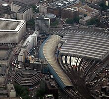 Circling London: Waterloo Station by Kasia-D