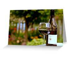 Tasting in the Garden Greeting Card