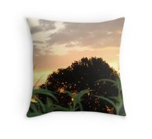 Northern New Mexico Sunset Throw Pillow
