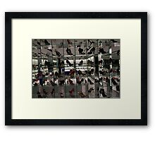 Shoes Store Framed Print