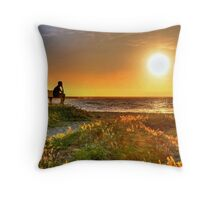 Montana del Oro campgrounds in CA Throw Pillow