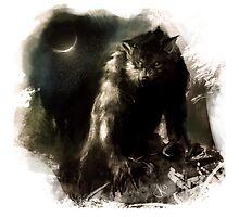 Crescent Moon Werewolf by JackKaiser