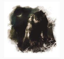 Crescent Moon Werewolf T-Shirt