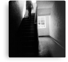 Going up stairs Metal Print
