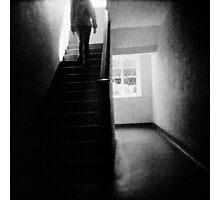 Going up stairs Photographic Print
