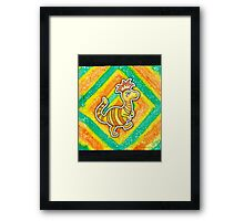 Earthbound Crested Booka Framed Print