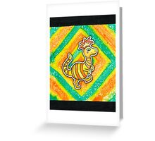 Earthbound Crested Booka Greeting Card