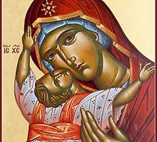 Panagia Kardiotissa by ikonographics
