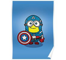 Minions Assemble - Captain Minerica Poster