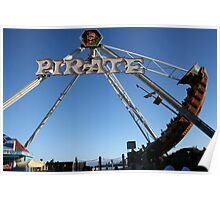 Carnival Pirate Ship Poster
