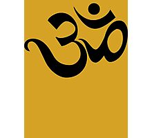 "Yoga ""Om Symbol"" T-Shirt Photographic Print"