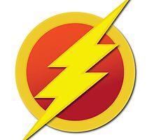 The Flash - Basic Logo by rywhal
