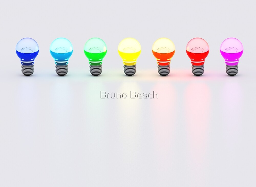 Disco Bulbs by Bruno Beach