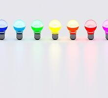 Disco Bulbs by Digital Editor .