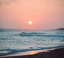 Treachery Beach Sunset by RationalMatthew