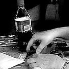 restless hands by Annie Prezas