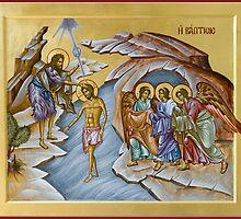 The Baptism of Christ by ikonographics