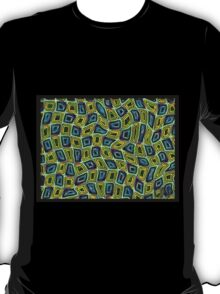 Tumbler 29 Moving Optical Illusion Psychedelic Design T-Shirt