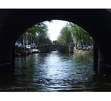 Seven Bridges In A Row - Amsterdam Photographic Print