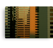 Urban Twilight 1 Canvas Print