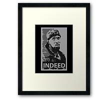 Omar Indeed Framed Print