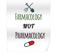 Farmacology Not Pharmacology Poster