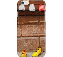 Shoe Shop in Montepulciano, Italy iPhone Case/Skin