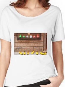 Shoe Shop in Montepulciano, Italy Women's Relaxed Fit T-Shirt