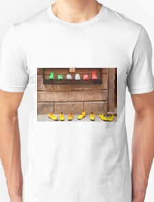 Shoe Shop in Montepulciano, Italy Unisex T-Shirt