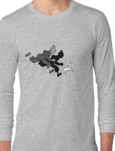 Tintin and Snowy Long Sleeve T-Shirt