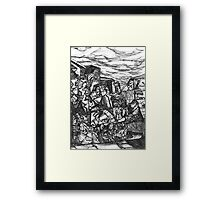 Blessings and Curses Framed Print
