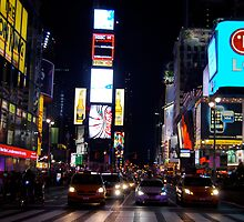 times square by Jennifer Muller