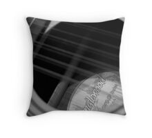 acoustic guitar 003 Throw Pillow